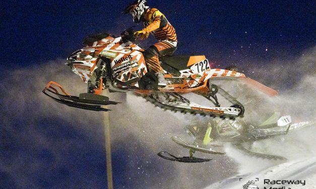 Keskiaho, Juntunen, Jaakola ja Kylmälä snowcrossin SM-sarjan valtiaat