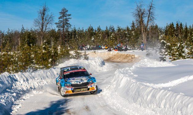 Teemu Asunmaa Arctic Rally Finlandin WRC3-luokan voittoon