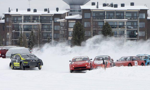 Autojen jääratamestaruudet ratkottiin Kuusamossa