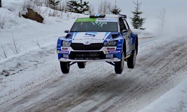 Juha Salo Kouvolassa toiseksi ja nousi SM-pistejohtoon