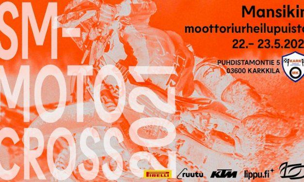 Motocrossin Suomen mestaruussarja käynnistyy Karkkilasta