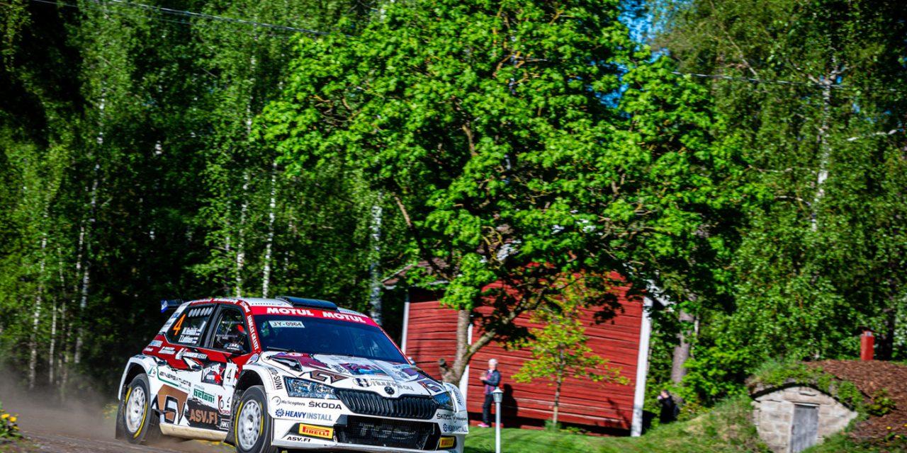 Ralli SM-sarja suuntaa Pohjanmaan lakeuksille – Jaossa kauden neljännet pisteet