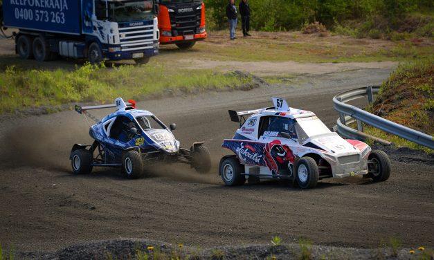 Lauri Halonen ajoi neljänneksi Crosskartien SM-kauden avauksessa Joensuussa
