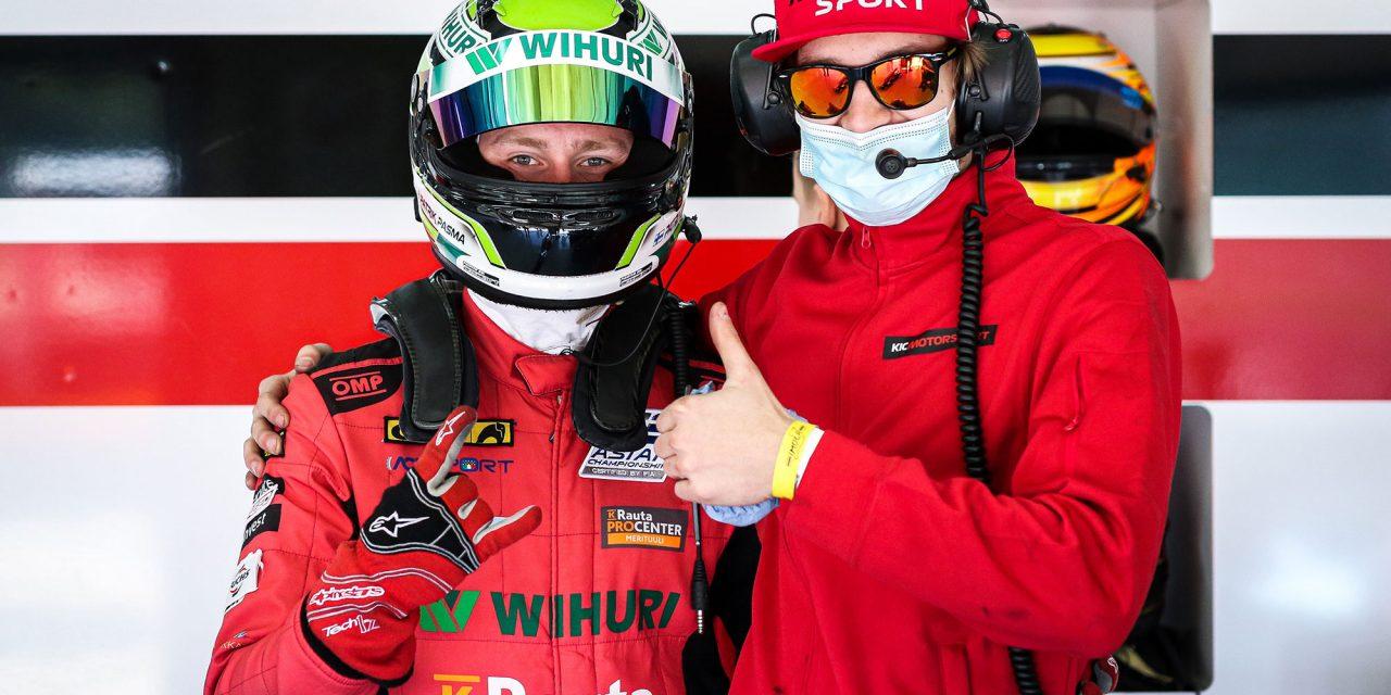 KIC Motorsport juuttui ruuhkaan Formula Regional by Alpine ratasarjan neljännessä osakilpailuviikonlopussa