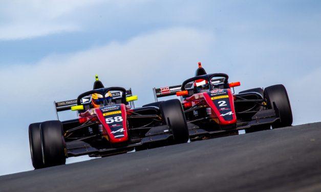KIC Motorsportin pitkä pisteputki Formula Regional ratasarjassa katkesi Hollannin Zantvoortissa