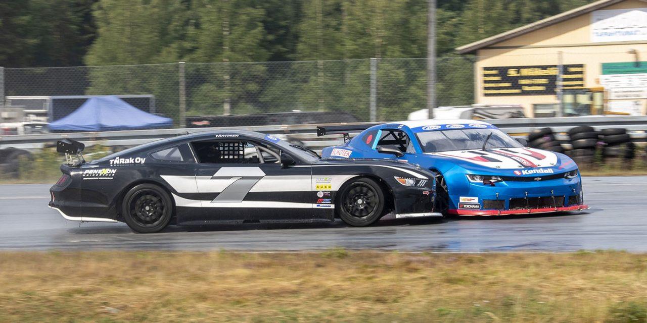 Rata-autoilun SM-sarjan kauden kolmas osakilpailu Botniaringillä 31.7.-1.8.