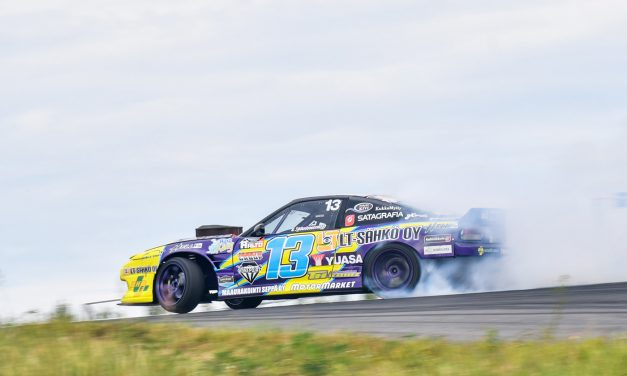 Lauri Heinonen hallitsi Drifting SM-sarjan toista osakilpailua alusta loppuun