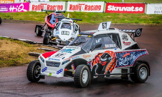 Lauri Halonen sijoittui kuudenneksi RallyX Nordic-sarjassa