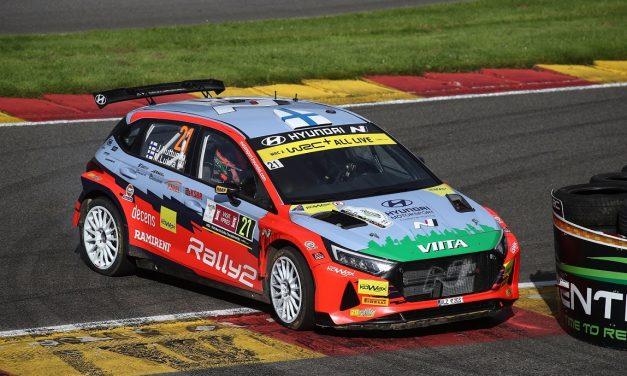 Jari Huttunen WRC2-luokan voittoon Belgian MM-rallissa