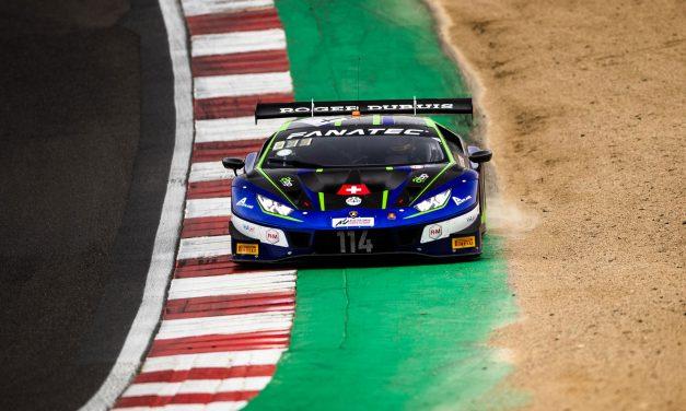 Konsta Lappalainen viides GT World Challenge Brands Hatchin osakilpailuviikonlopussa